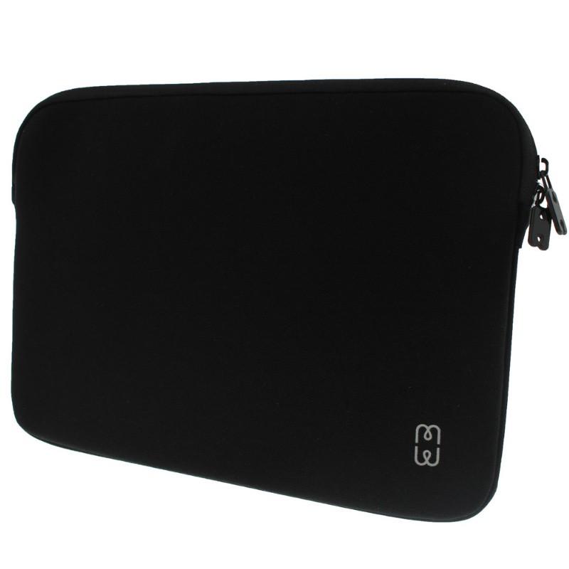 MW - MacBook Pro 13 inch / Air 2018 Sleeve Zwart/Grijs - 2