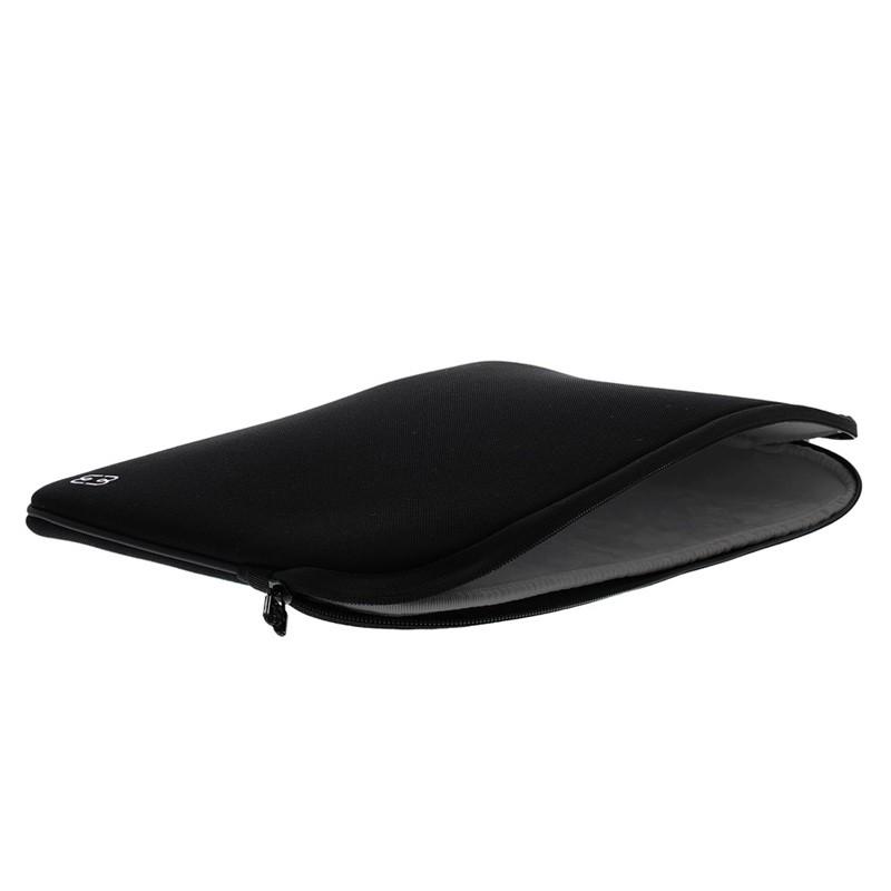 MW - MacBook Pro 13 inch / Air 2018 Sleeve Zwart/Grijs - 3