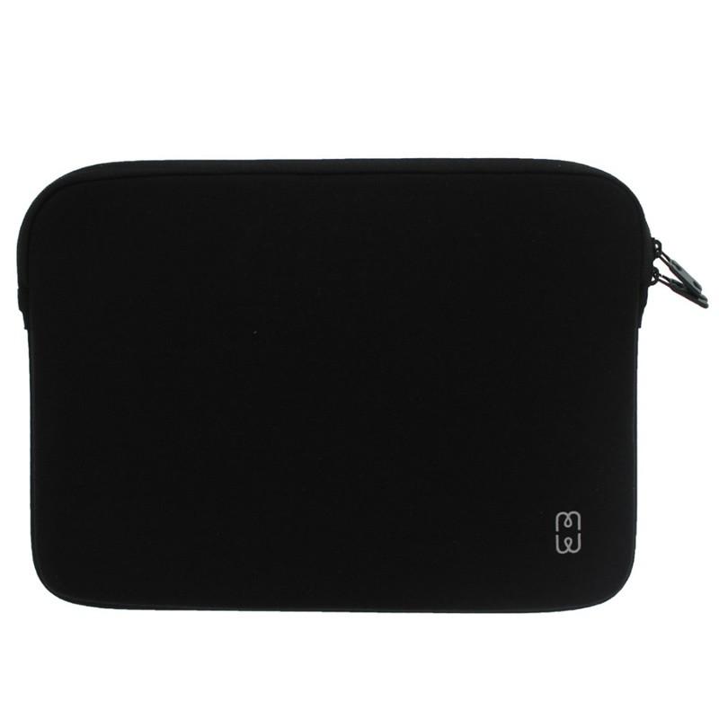 MW - MacBook Pro 13 inch / Air 2018 Sleeve Zwart/Grijs - 1