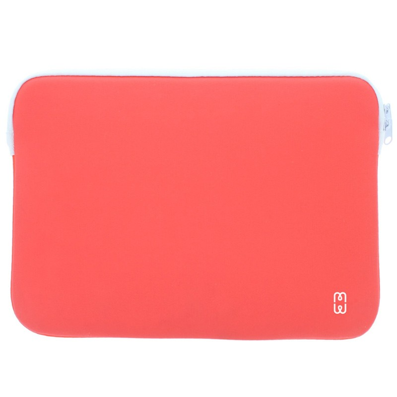 MW - MacBook Pro 13 inch 2016 Sleeve Coral/White 01