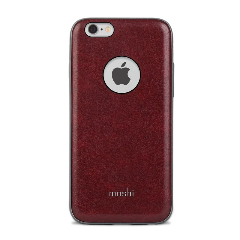 Moshi iGlaze Napa iPhone 6/6S Red - 1