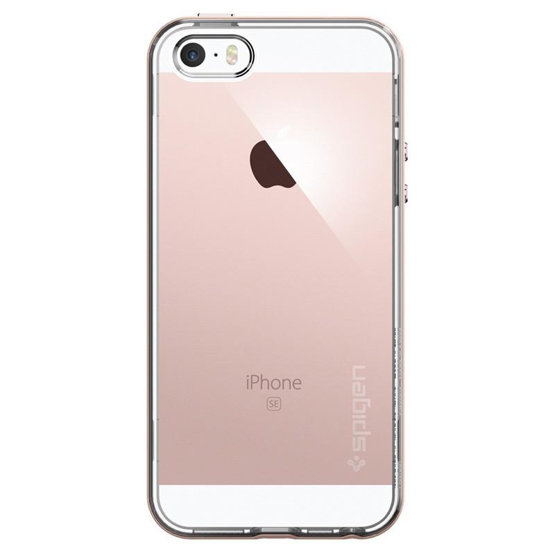 Spigen Neo Hybrid Crystal iPhone SE / 5S / 5 Rose Gold - 1