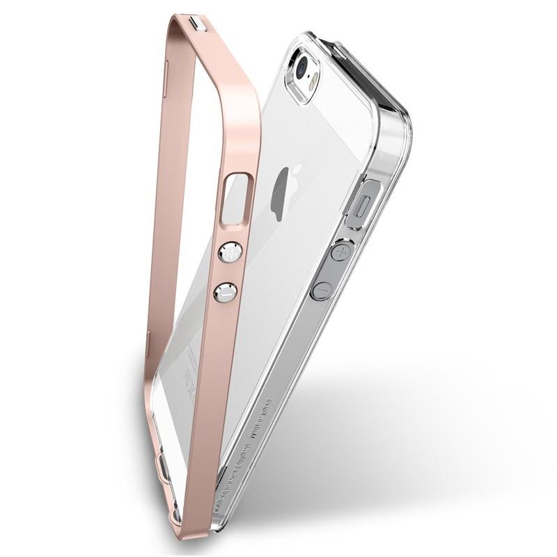Spigen Neo Hybrid Crystal iPhone SE / 5S / 5 Rose Gold - 5