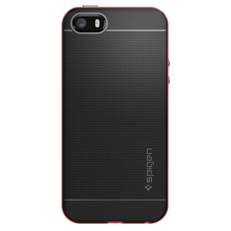 Spigen Neo Hybrid iPhone SE / 5S / 5 Dante Red - 1