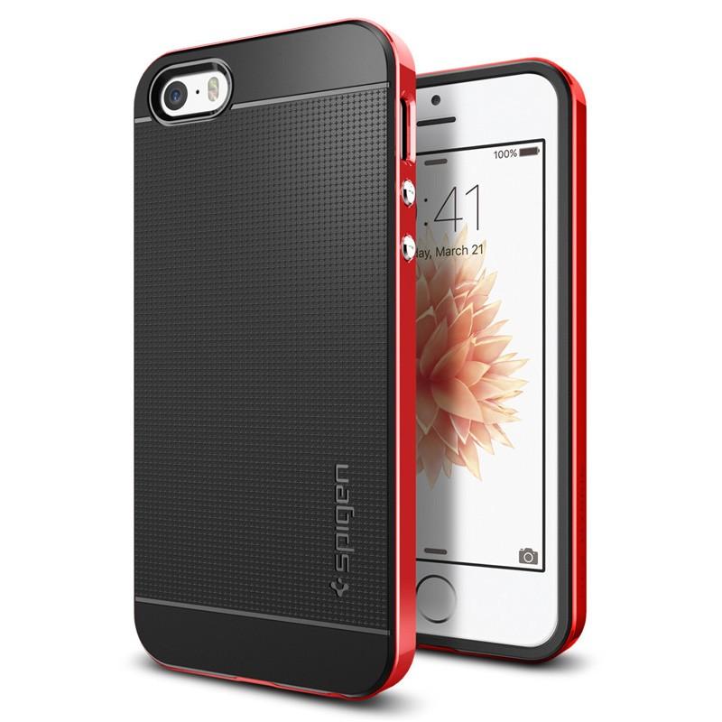 Spigen Neo Hybrid iPhone SE / 5S / 5 Dante Red - 4