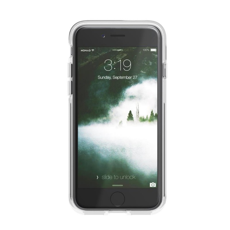 Nomad Leather Clear Case iPhone 8/7 Hoesje Bruin - 4