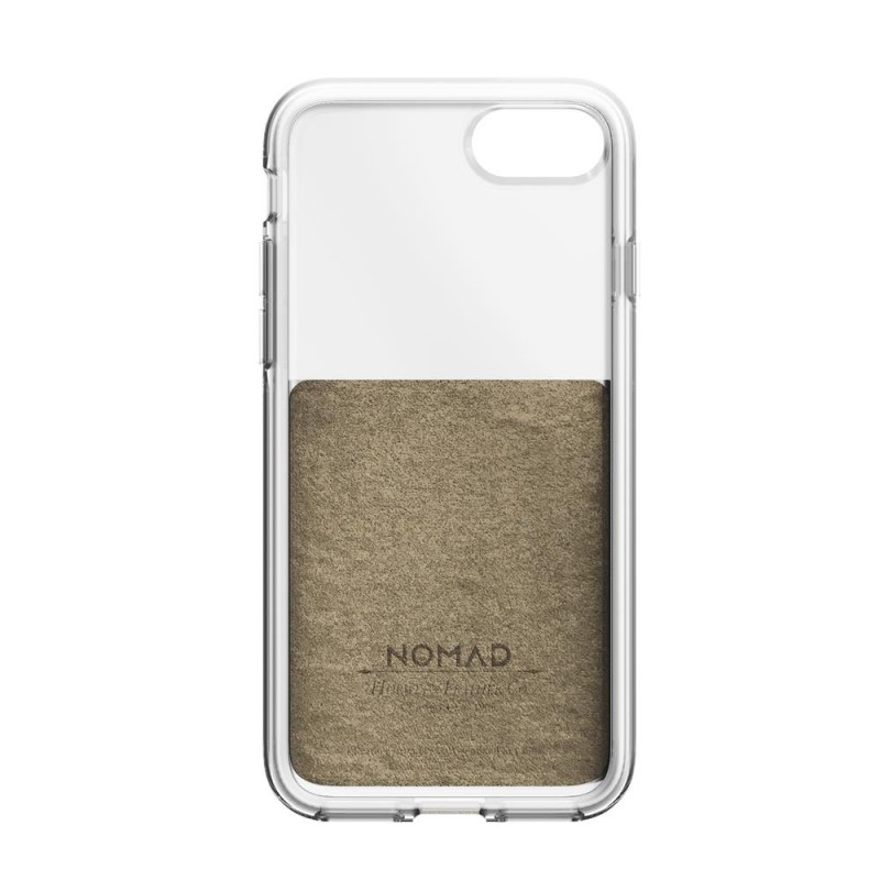 Nomad Leather Clear Case iPhone 8/7 Hoesje Bruin - 5