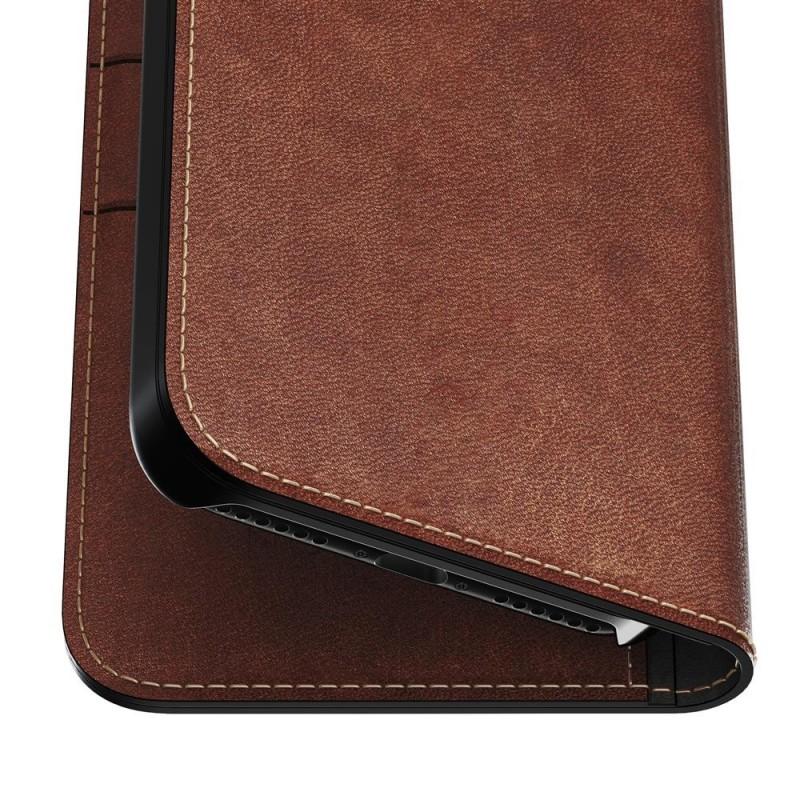 Nomad Leather Folio iPhone 8/7 Hoesje Bruin - 6