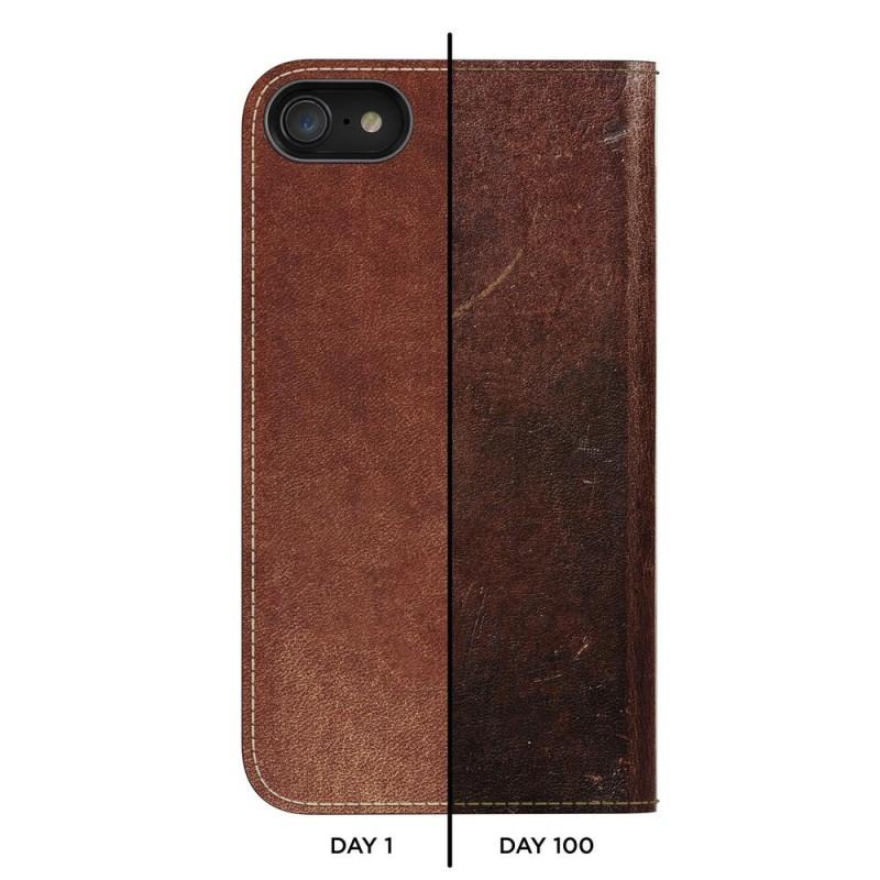 Nomad Leather Folio iPhone 8/7 Hoesje Bruin - 7