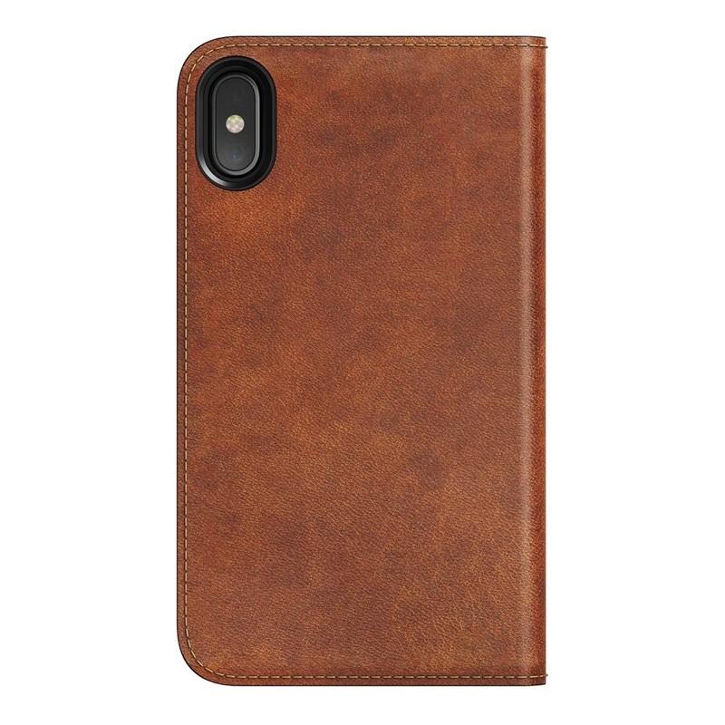 Nomad Leather Folio iPhone X Bruin - 2