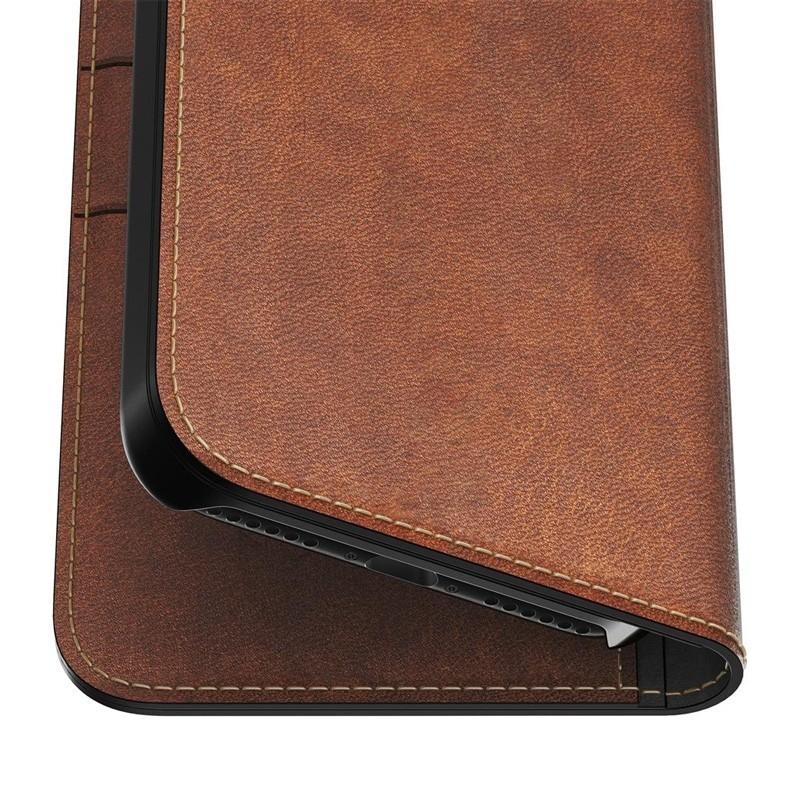 Nomad Leather Folio iPhone X Bruin - 5