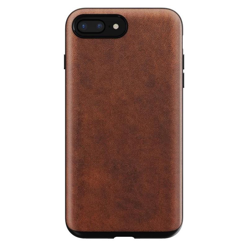 Nomad Rugged Leather Case iPhone 8 Plus/7 Plus Bruin - 1