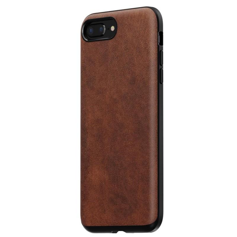 Nomad Rugged Leather Case iPhone 8 Plus/7 Plus Bruin - 2