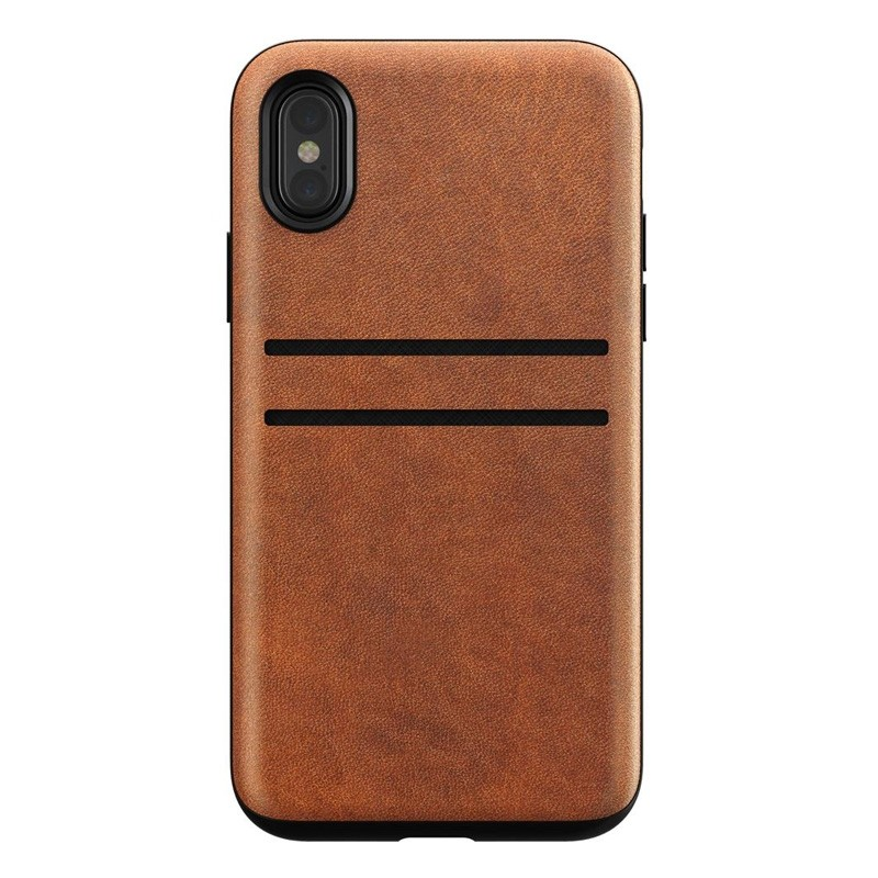 Nomad  Leather Wallet Case iPhone X/Xs Bruin - 6