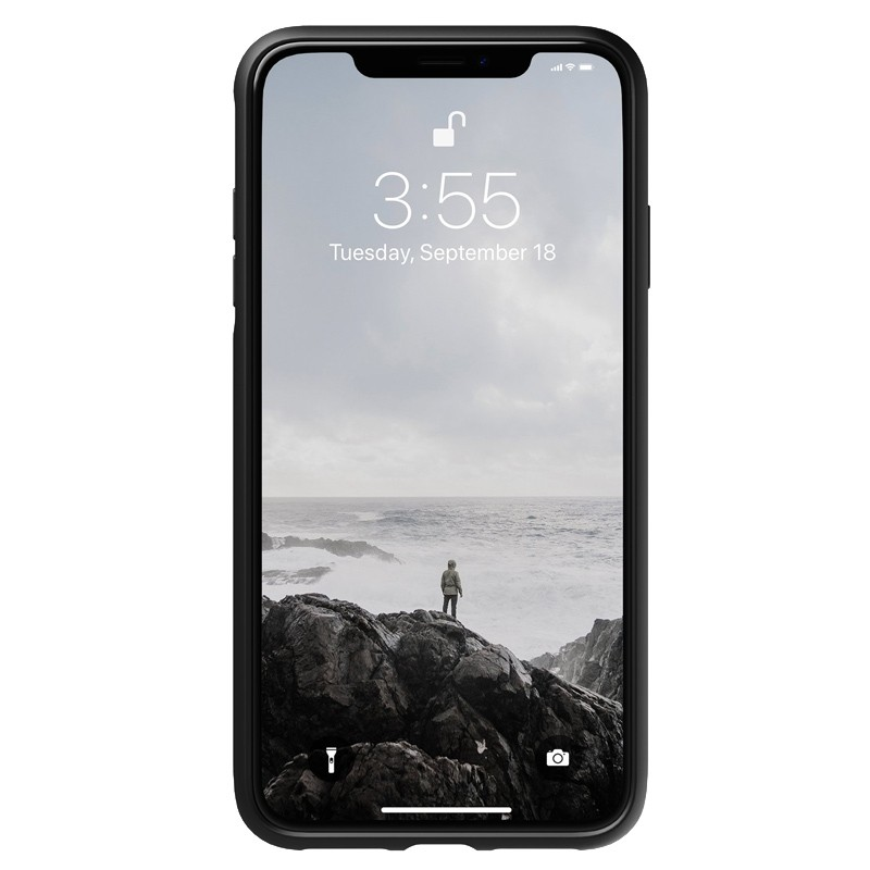 Nomad Leather Case iPhone XS Max Bruin 04