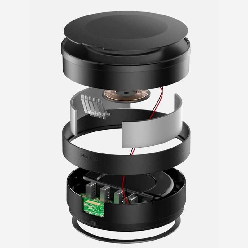 Nomad Wireless Qi Charging Hub - 6