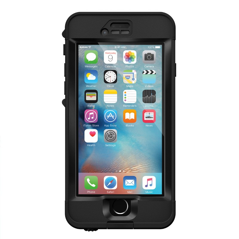 LifeProof Nuud iPhone 6 Plus / 6S Plus Black - 1