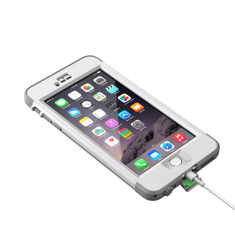 LifeProof Nuüd iPhone 6 Plus White - 6