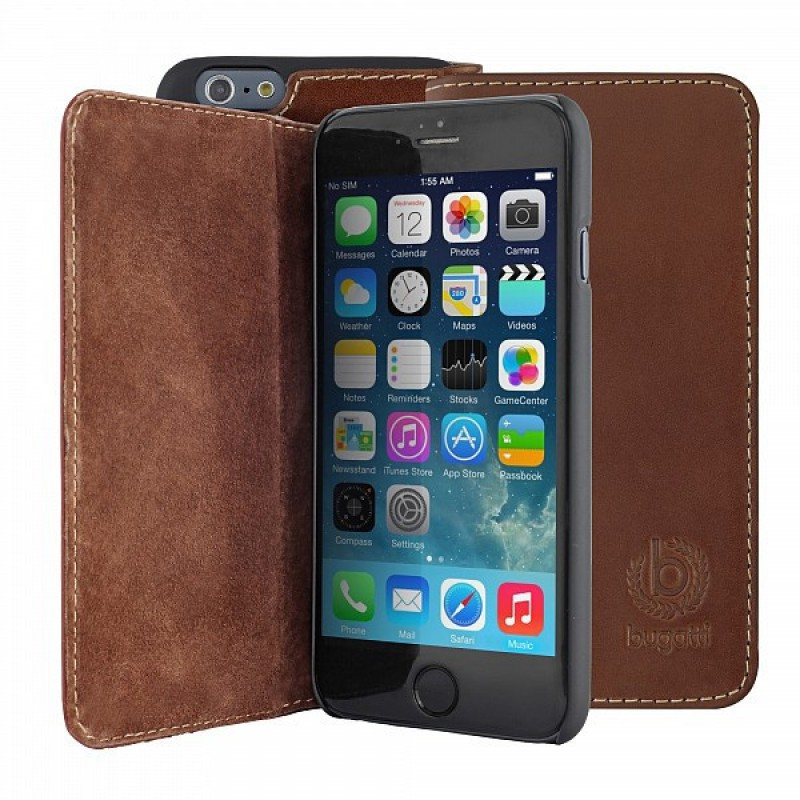 Bugatti Oslo iPhone 6 Plus Brown - 4
