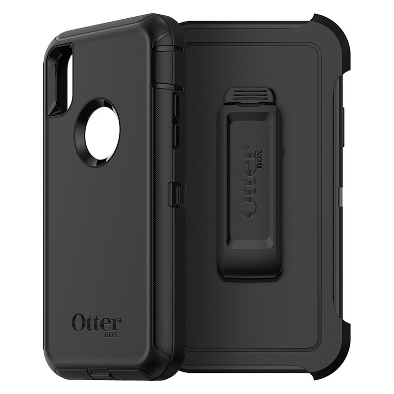 Otterbox Defender iPhone X Black 01