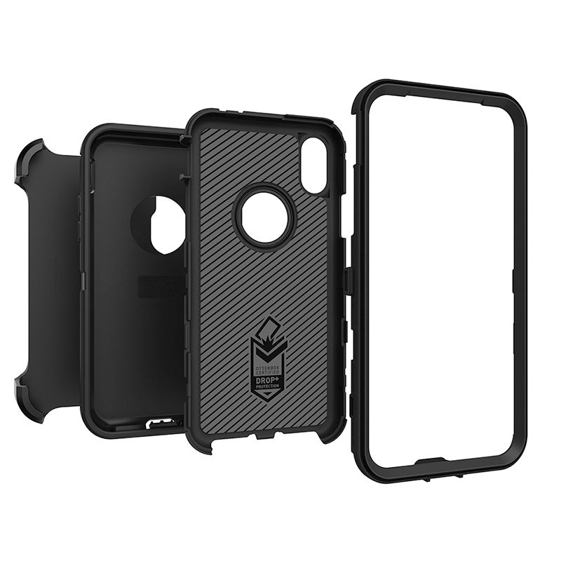 Otterbox Defender iPhone X Black 03