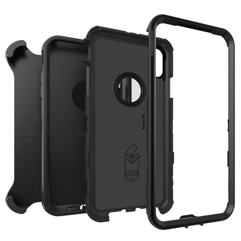 Otterbox Defender iPhone XR Hoes Zwart 03