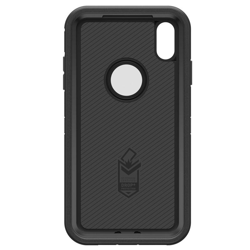 Otterbox Defender iPhone XR Hoes Zwart 06