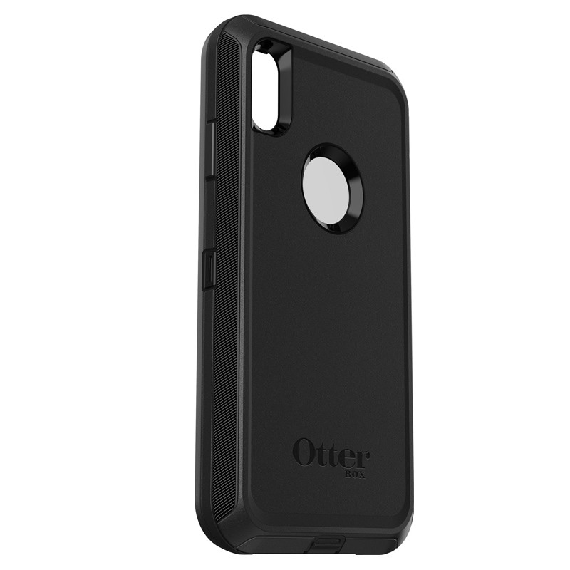 Otterbox Defender iPhone XR Hoes Zwart 05