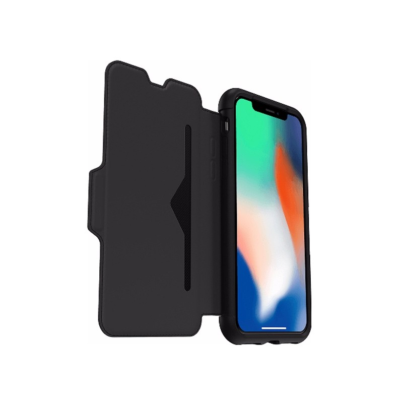 Otterbox - Clearly Protected Skin iPhone X/Xs Shadow Black 08