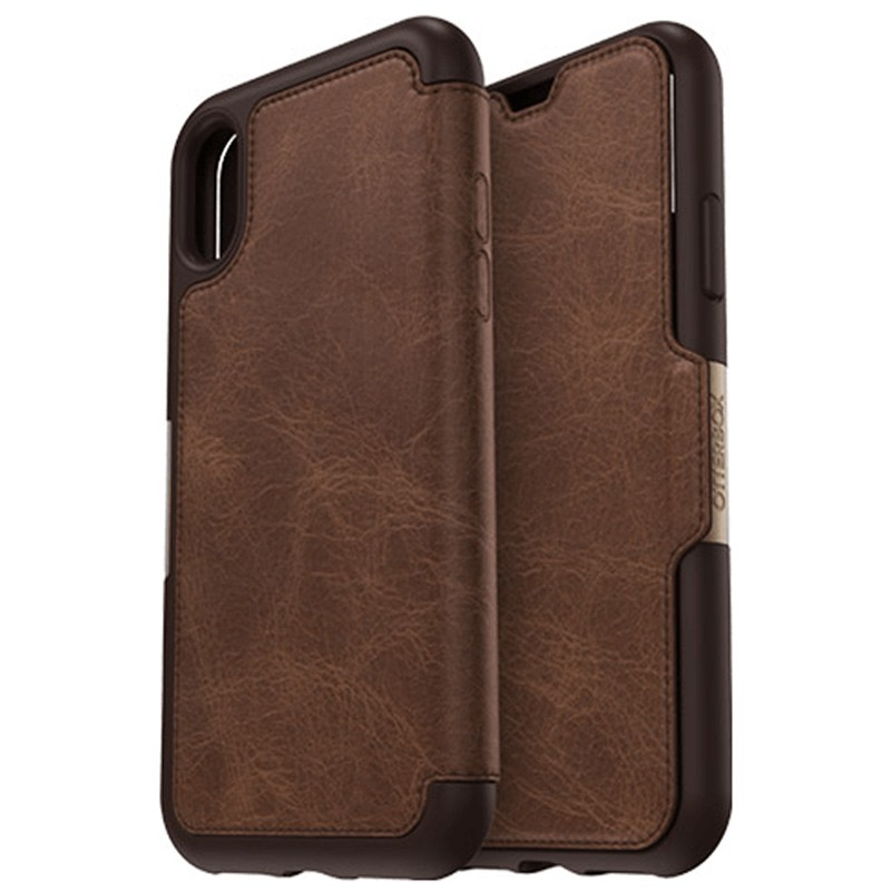Otterbox - Clearly Protected Skin iPhone X Expresso Brown 01