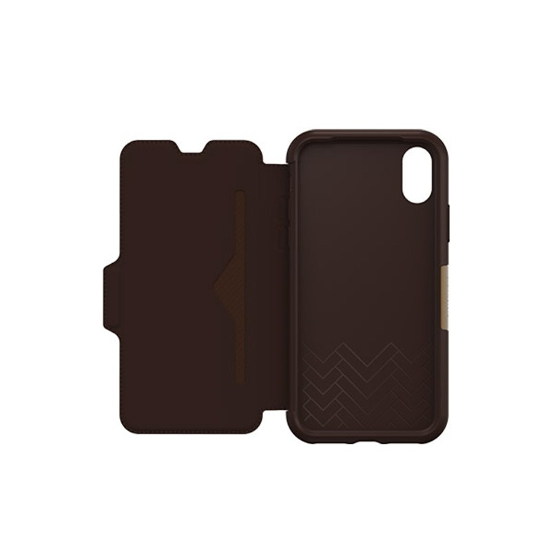 Otterbox - Clearly Protected Skin iPhone X Expresso Brown 04