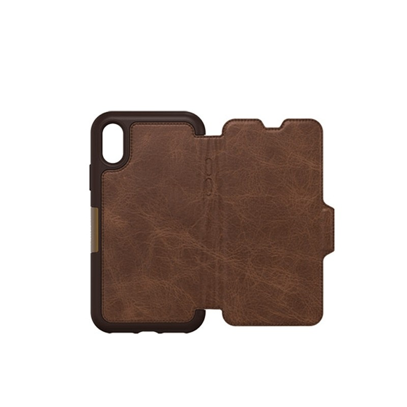 Otterbox - Clearly Protected Skin iPhone X Expresso Brown 05