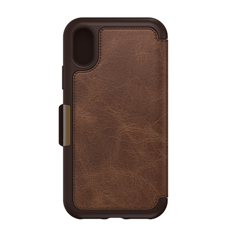 Otterbox - Clearly Protected Skin iPhone X Expresso Brown 02