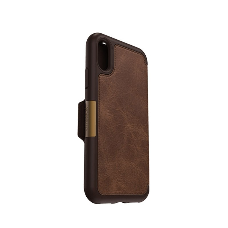 Otterbox - Clearly Protected Skin iPhone X Expresso Brown 03