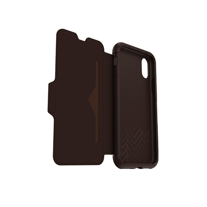 Otterbox - Clearly Protected Skin iPhone X Expresso Brown 08