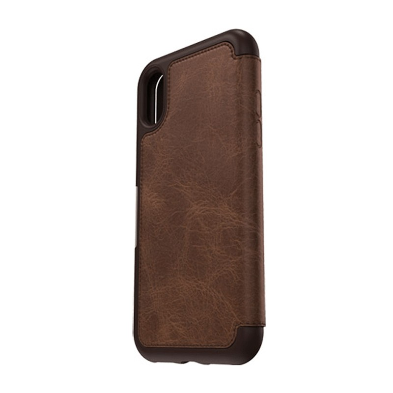 Otterbox - Clearly Protected Skin iPhone X Expresso Brown 10
