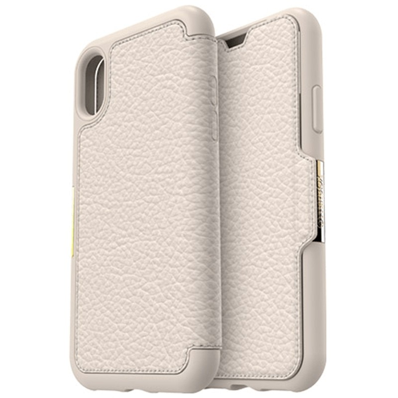 Otterbox - Clearly Protected Skin iPhone X soft opal beige 01