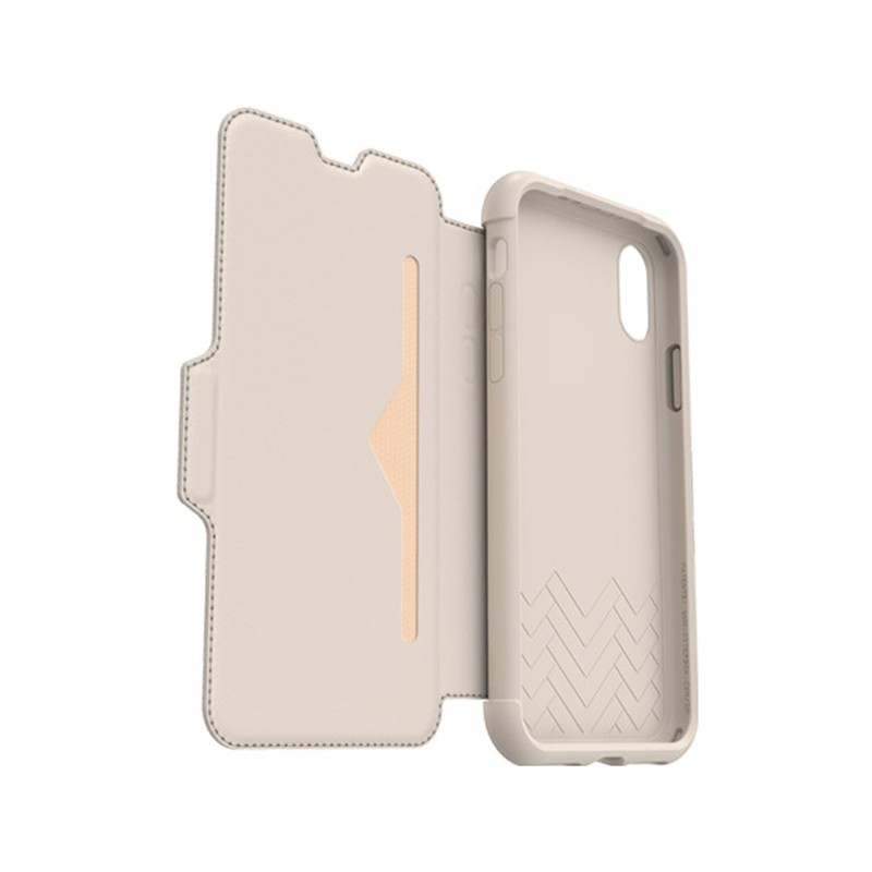Otterbox - Clearly Protected Skin iPhone X soft opal beige 06