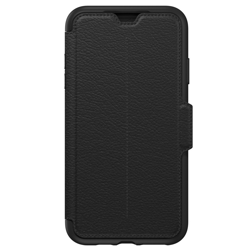 Otterbox Strada Folio iPhone XS Max Hoesje Shadow Black Zwart 01