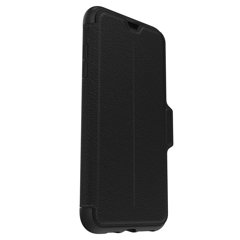 Otterbox Strada Folio iPhone XS Max Hoesje Shadow Black Zwart 07
