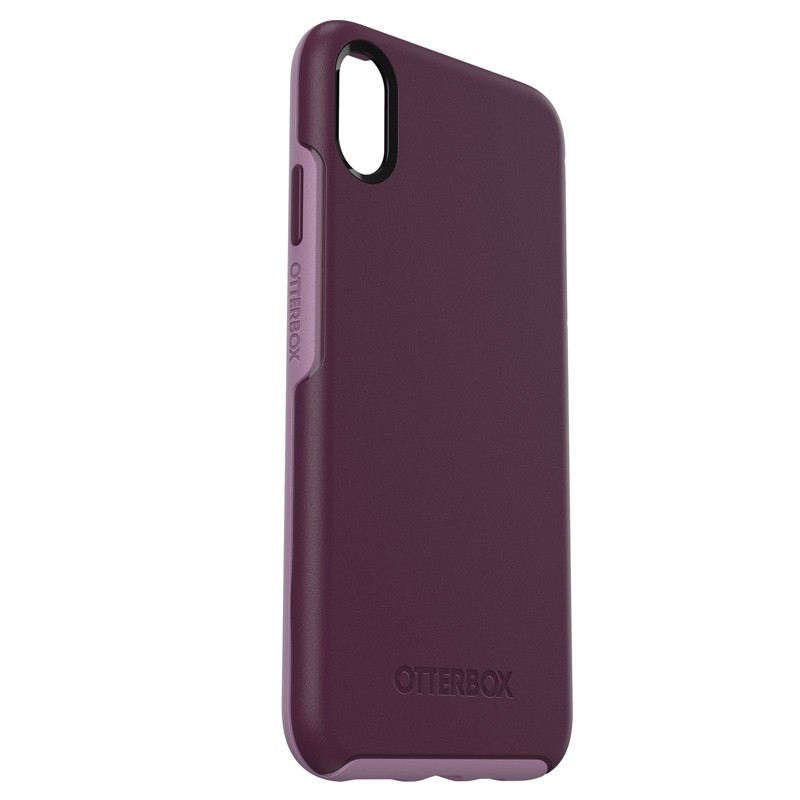 Otterbox Symmetry iPhone XS Max Hoesje Paars 04