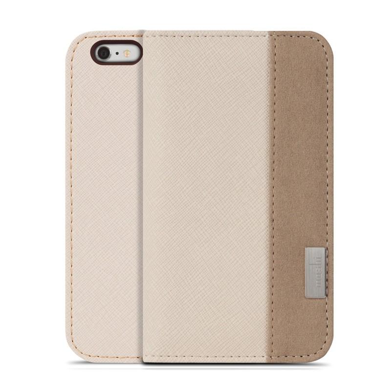 Moshi Overture Wallet Case iPhone 6 Plus Sahara Beige - 1