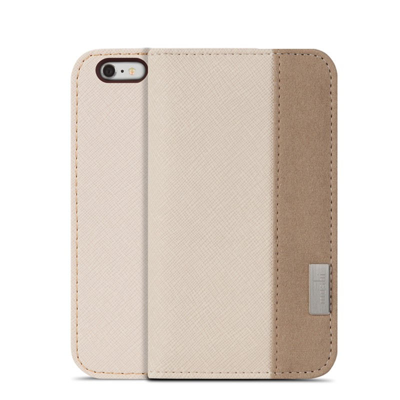 Moshi Overture Wallet Case iPhone 6 Sahara Beige - 1