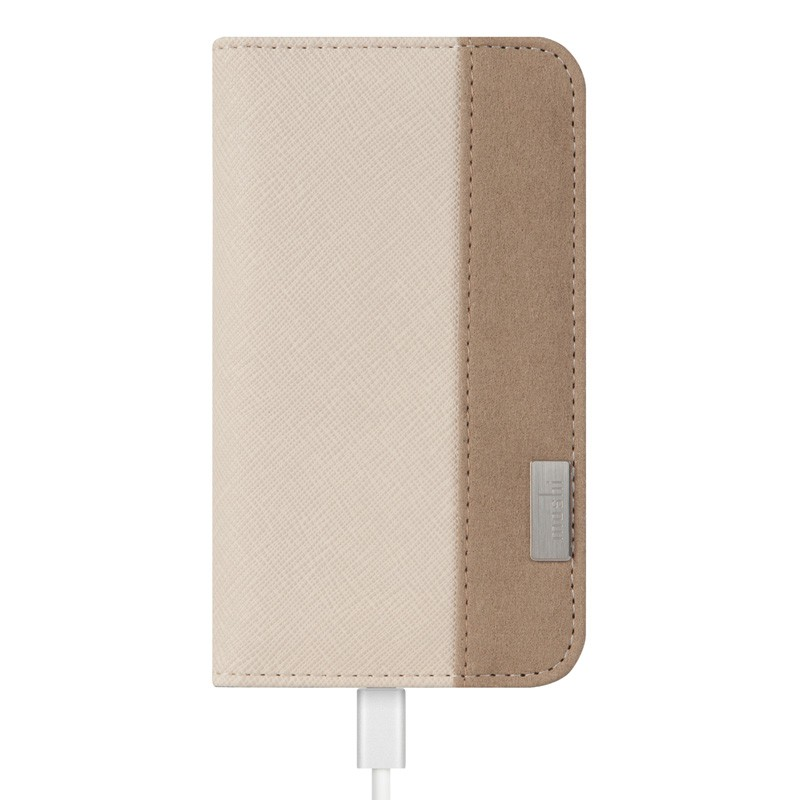 Moshi Overture Wallet Case iPhone 6 Plus Sahara Beige - 2