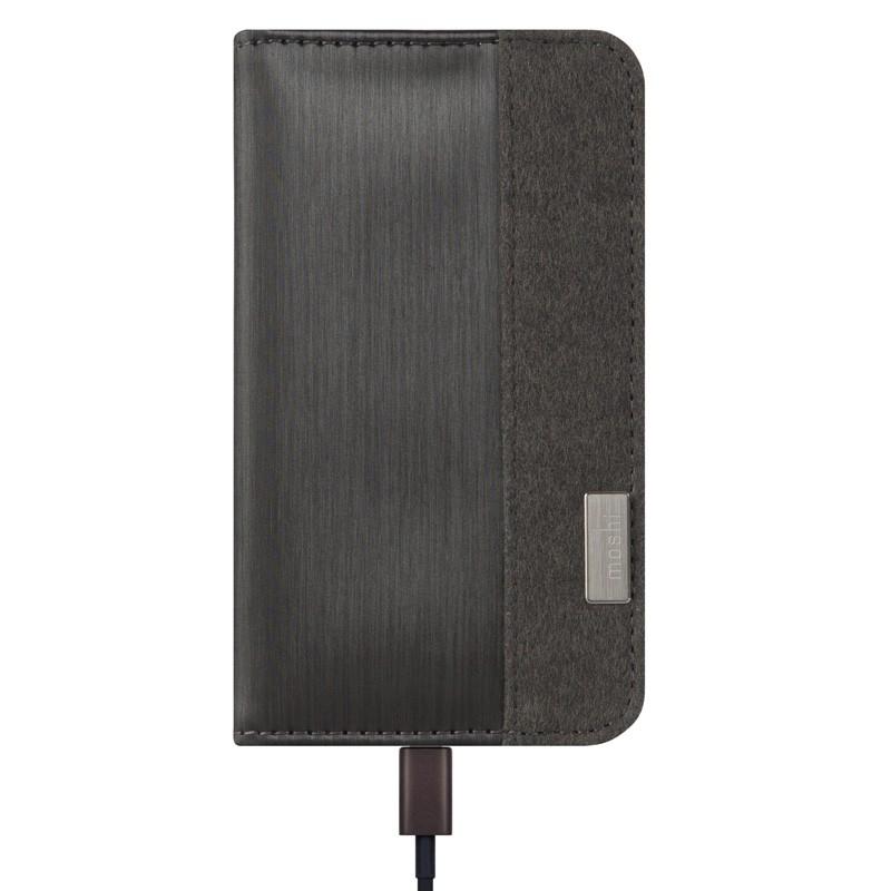 Moshi Overture Wallet Case iPhone 6 Plus Steel Black - 2
