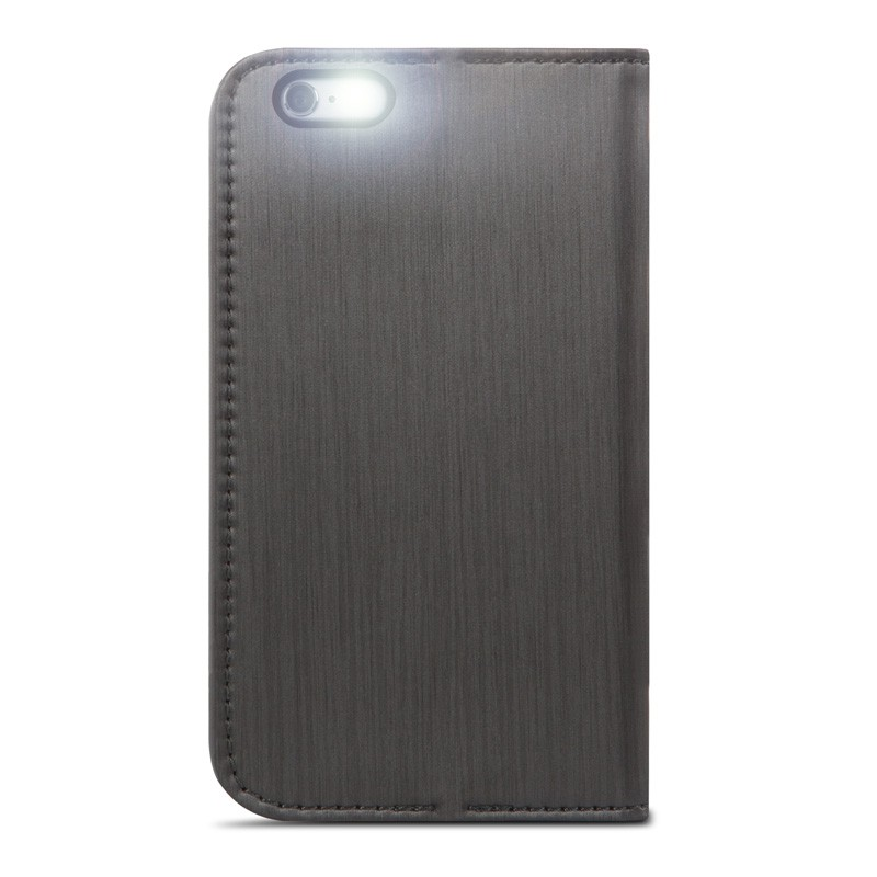 Moshi Overture Wallet Case iPhone 6 Plus Steel Black - 4
