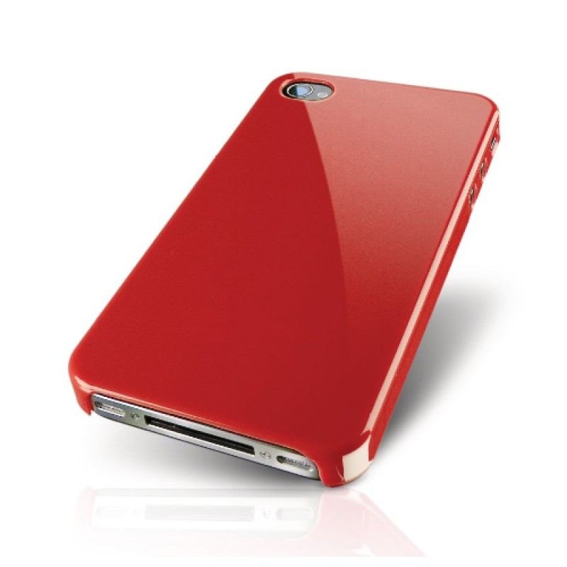 Philips DLM1374 HardShell iPhone 4 Red - 2