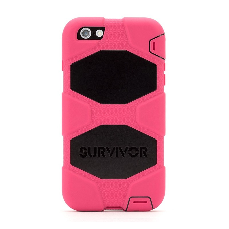 Griffin Survivor Case iPhone 6 Plus Black/Pink - 2