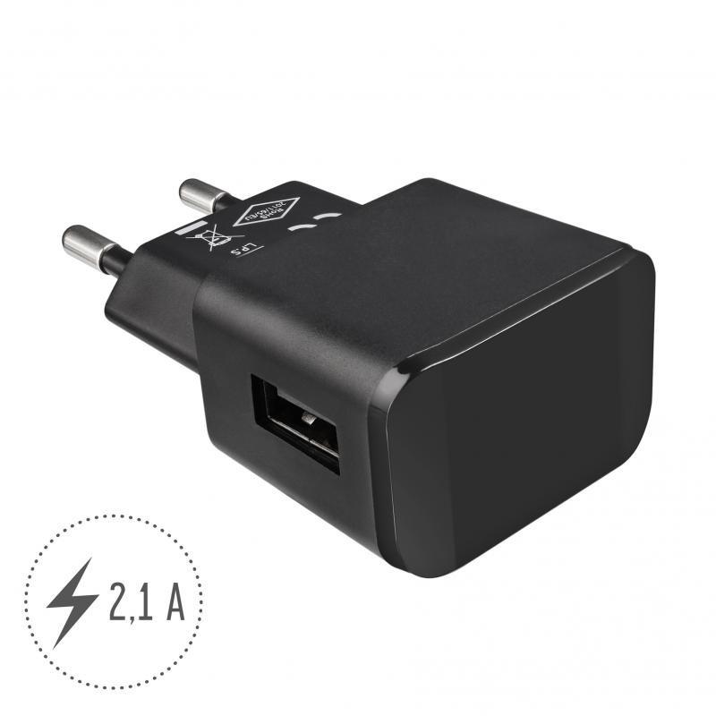 Artwizz PowerPlug 3 Univerele 2.1A Thuislader Black - 1