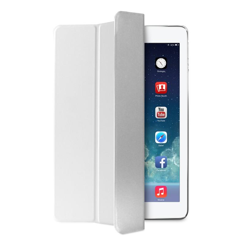 Puro Zeta Folio iPad Air 2 White - 1